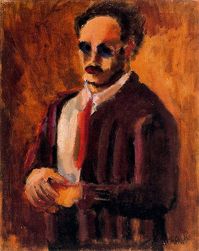 Self Portrait (1936) Mark Rothko
