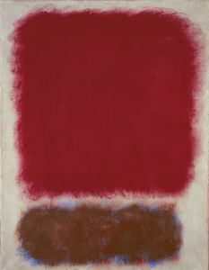 Untitled (Red over Brown), 1967 Mark Rothko