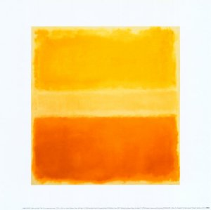 yellow and gold 1956 by mark rothko